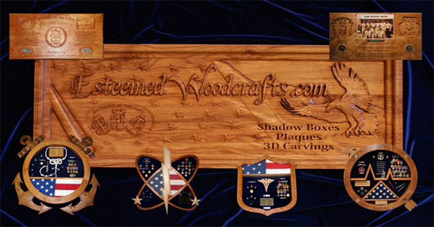 "Esteemed Woodcrafts.com - ""Preserving your legacy"""